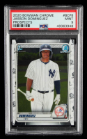 Jasson Dominguez 2020 Bowman Chrome Prospects #BCP8 (PSA 9) at PristineAuction.com