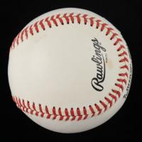 John Morris Signed ONL Baseball (JSA COA) (See Description) at PristineAuction.com