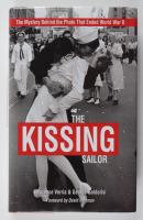 "George Mendonsa Signed LE ""The Kissing Sailor"" Hardcover Book Inscribed ""The Kissing Sailor"" (PSA COA) at PristineAuction.com"