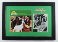 "Brian Wilson, Carl Wilson, Mike Love Signed 20.5x29 The Beach Boys ""Pet Sounds"" Custom Framed Vinyl Record Album Display Inscribed ""With Love"" (JSA ALOA) at PristineAuction.com"