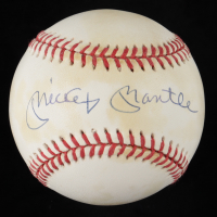 Mickey Mantle Signed OAL Baseball (JSA ALOA) (See Description) at PristineAuction.com