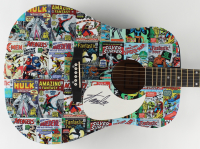 "Stan Lee Signed ""Marvel Comics"" 40"" Acoustic Guitar (JSA ALOA) at PristineAuction.com"