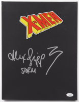Alexandra Shipp Signed 11x14 Stretched Canvas With Hand Drawn Sketch (JSA COA) (See Description) at PristineAuction.com