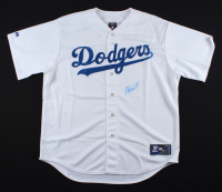 Magic Johnson Signed Dodgers Jersey (JSA COA) at PristineAuction.com