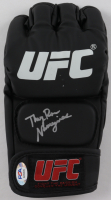 "Rose Namajunas Signed UFC Glove Inscribed ""Thug"" (PSA COA) at PristineAuction.com"