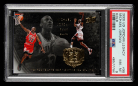 Michael Jordan 2009-10 Upper Deck Michael Jordan Legacy Collection Gold #96 (PSA 8) at PristineAuction.com