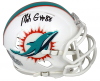 Mike Gesicki Signed Dolphins Speed Mini-Helmet (Beckett Hologram) at PristineAuction.com