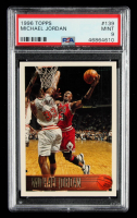 Michael Jordan 1996-97 Topps #139 (PSA 9) at PristineAuction.com