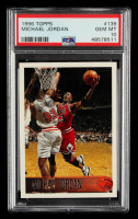 Michael Jordan 1996-97 Topps #139 (PSA 10) at PristineAuction.com