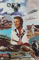 Evel Knievel Signed 16x25 Print (JSA COA) at PristineAuction.com