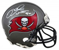 Mike Alstott Signed Buccaneers Mini-Helmet (Beckett Hologram) at PristineAuction.com