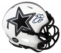 Emmitt Smith Signed Cowboys Lunar Eclipse Alternate Speed Mini-Helmet (Beckett Hologram & Prova COA) at PristineAuction.com