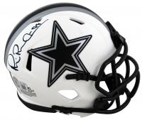 "Michael ""Playmaker"" Irvin Signed Cowboys Lunar Eclipse Alternate Speed Mini-Helmet (Beckett Hologram) at PristineAuction.com"