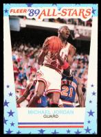 Michael Jordan 1989-90 Fleer Stickers #3 at PristineAuction.com