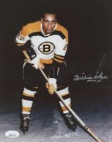 "Willie O""Ree Signed Bruins 8x10 Photo (JSA COA) at PristineAuction.com"
