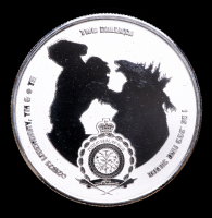 2021 Niue Godzilla vs Kong 1 oz Silver $2 Two Dollar Kong Coin at PristineAuction.com