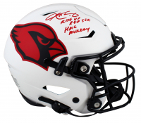 """Kyler Murray Signed Cardinals Full-Size Authentic On-Field Lunar Eclipse Alternate SpeedFlex Helmet Inscribed """"Rise Up Red Sea"""" & """"Hail Murray"""" (Beckett COA) at PristineAuction.com"""