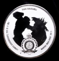 2021 Niue Godzilla vs Kong 1 oz Silver $2 Two Dollar Godzilla Coin at PristineAuction.com