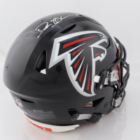 Deion Sanders Signed Falcons Full-Size Authentic On-Field SpeedFlex Helmet with Visor (Beckett Hologram) (See Description) at PristineAuction.com
