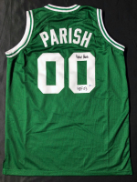 "Robert Parish Signed Jersey Inscribed ""HOF 03"" (Beckett COA) at PristineAuction.com"