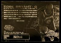 Kobe Bryant Skybox 1997 23kt Gold Card at PristineAuction.com
