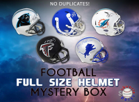 Schwartz Sports NO DUPLICATES Full-Size Football Helmet Mystery Box – Series 3 (Limited to 75) (75 DIFFERENT PLAYERS! / NO DUPLICATES!) at PristineAuction.com