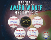 Schwartz Sports Baseball Award Winner Signed Baseball Mystery Box - Series 12 (Limited to 100) at PristineAuction.com