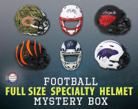 Schwartz Sports Full-Size Specialty Football Helmet Mystery Box – Series 9 (Limited to 100) at PristineAuction.com