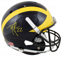 Ty Law Signed Michigan Wolverines Full-Size Helmet (Beckett Hologram) at PristineAuction.com