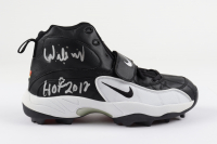 "Willie Roaf Signed Nike Football Cleat Inscribed ""HOF 2012"" (Beckett Hologram) at PristineAuction.com"