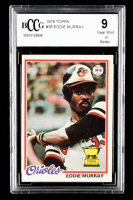 Eddie Murray 1978 Topps #36 RC (BCCG 9) at PristineAuction.com
