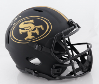 Brandon Aiyuk Signed 49ers Full-Size Eclipse Alternate Speed Helmet (Beckett COA) at PristineAuction.com