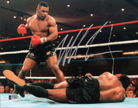 Mike Tyson Signed 8x10 Photo (Beckett COA) at PristineAuction.com