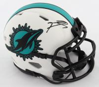 Tua Tagovailoa Signed Dolphins Lunar Eclipse Alternate Speed Mini Helmet (Fanatics Hologram) at PristineAuction.com