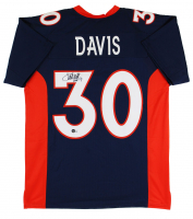 "Terrell Davis Signed Jersey Inscribed ""HOF 17"" (Beckett Hologram) at PristineAuction.com"