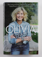"""Olivia Newton-John Signed """"Don't Stop Believin'"""" Hard-Cover Book Inscribed """"Love & Light""""  (Beckett COA) at PristineAuction.com"""