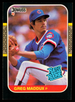 Greg Maddux 1987 Donruss #36 RC at PristineAuction.com