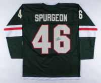 Jared Spurgeon Signed Jersey (Beckett COA) at PristineAuction.com