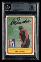 Lee Trevino Signed 1981 Donruss #NNO SL (BGS Encapsulated) at PristineAuction.com