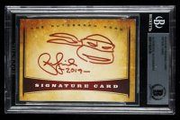 "Peter Laird Signed 2016 The Autograph Card Series #AC01 Inscribed ""2019"" with Hand-Drawn Sketch (BGS Encapsulated) at PristineAuction.com"