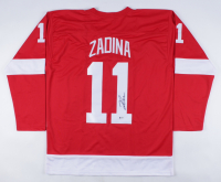 Filip Zadina Signed Jersey (Beckett COA) at PristineAuction.com