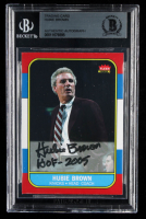 "Hubie Brown Signed Trading Card Inscribed ""HOF - 2005"" (BGS Encapsulated) at PristineAuction.com"