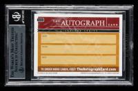 Bob Dole & Elizabeth Dole Signed 2016 The Autograph Card Series #AC01 (BGS Encapsulated) at PristineAuction.com