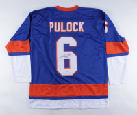 Ryan Pulock Signed Jersey (Beckett COA) (See Description) at PristineAuction.com