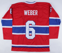 Shea Weber Signed Jersey (Beckett COA) at PristineAuction.com
