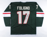 Marcus Foligno Signed Jersey (Beckett COA) at PristineAuction.com