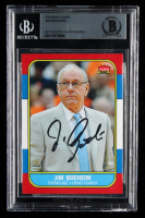 Jim Boeheim Signed Trading Card (BGS Encapsulated) at PristineAuction.com