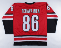 Teuvo Teravainen Signed Jersey (Beckett COA) (See Description) at PristineAuction.com