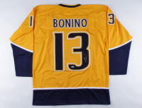 Nick Bonino Signed Jersey (Beckett COA) at PristineAuction.com