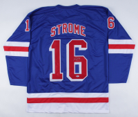 Ryan Strome Signed Jersey (Beckett COA) at PristineAuction.com